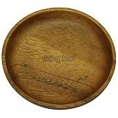 원목 나무 접시 아카시아 원형 미니접시