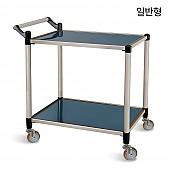 서빙카트 2단 스텐 일반형 고급형 프리미엄 음식 카트 서빙카