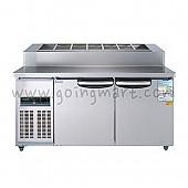 토핑테이블1500 WSM-150RBT(15) 냉장 370ℓ