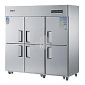 고급형 60박스 간냉식 WSFM-1900RF 냉동실 491ℓ 냉장실 1057ℓ