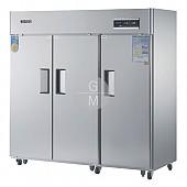 고급형 60박스 간냉식 WSFM-1900DF(3D) 냉동실 1629ℓ