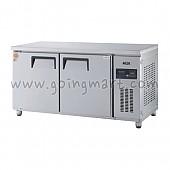 고급형 직냉식 냉테이블1500(5자) GWM-150RT 냉장 382ℓ
