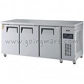 고급형 직냉식 냉테이블1800(6자) GWM-180RFT 냉동 161ℓ 냉장 324ℓ