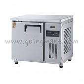 고급형 간냉식 냉테이블900(3자) GWFM-090RT 냉장 159ℓ