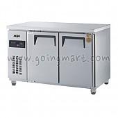 고급형 간냉식 냉테이블1200(4자) GWFM-120FT 냉동 262ℓ
