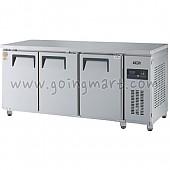 고급형 간냉식 냉테이블1800(6자) GWFM-180FT 냉동 466ℓ