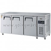 고급형 간냉식 냉테이블1800(6자) GWFM-180RFT 냉동 156ℓ 냉장 310ℓ