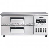 낮은서랍식냉테이블 1200(4자) CWSM-120LDT 냉장 170ℓ