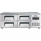 낮은서랍식냉테이블 1500(5자) CWSM-150LDT 냉장 240ℓ