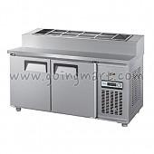 토핑 테이블 냉장고 1200 냉장 260L GWS-120RBT(15)