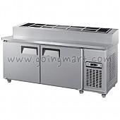 토핑 테이블 냉장고 1500 냉장 370L GWS-150RBT(15)